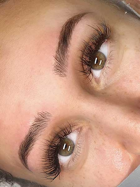 Combo brows (microblading + shading) by BeautyBoss