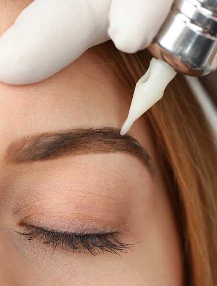 Brows shading in Washington, DC by BeautyBoss