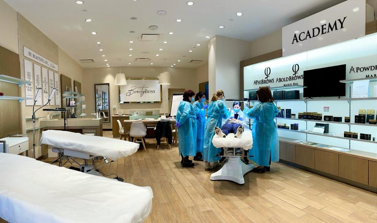 Beautyboss academy microblading dc