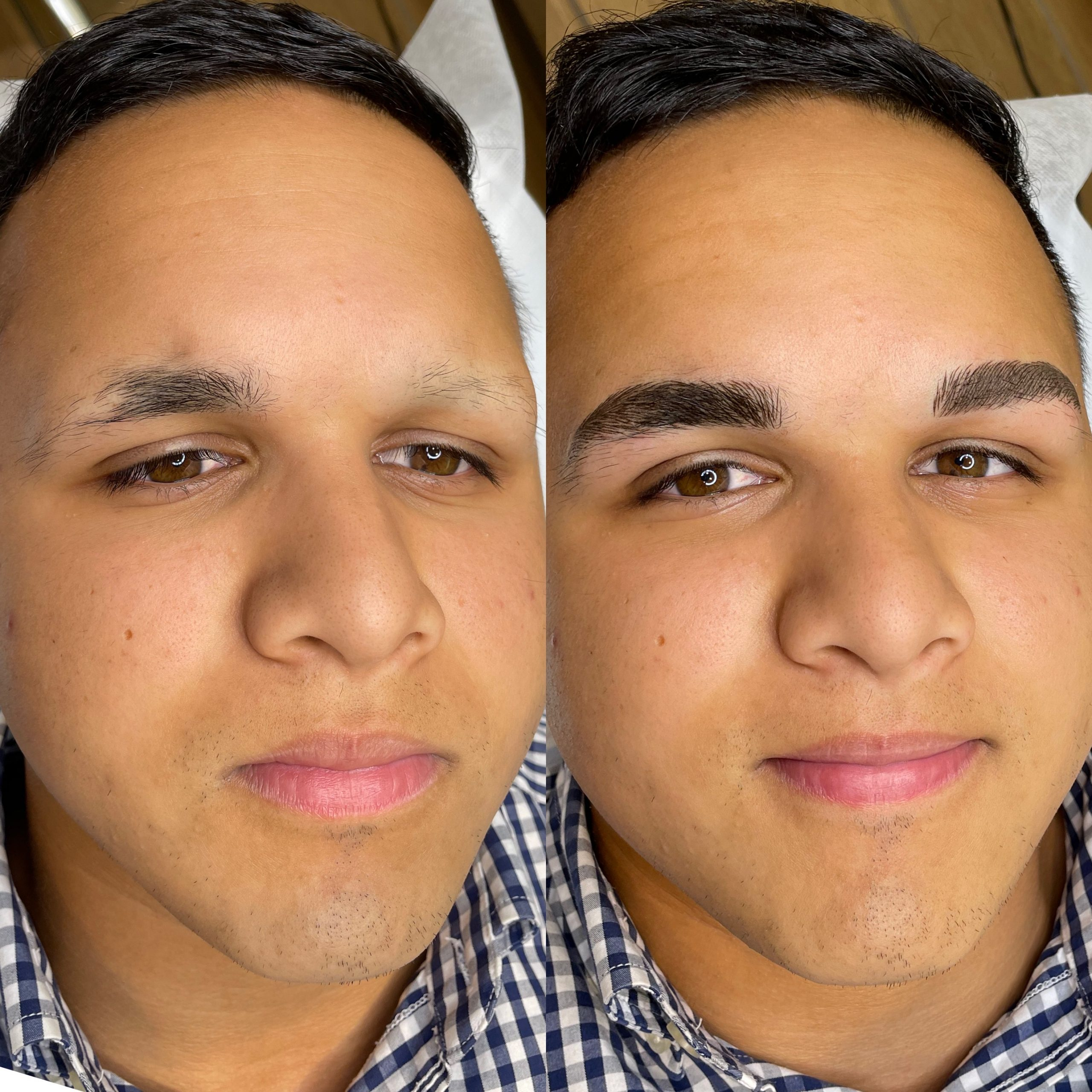 Men Eyebrows Microblading beautyboss 3 scaled