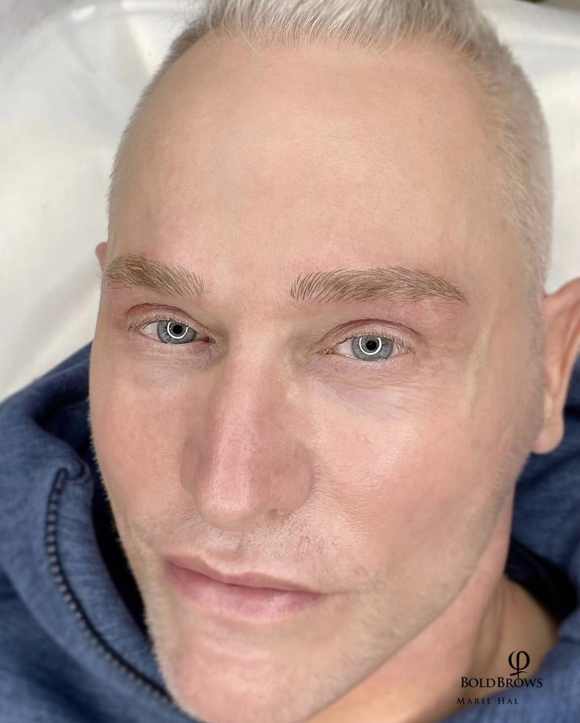 Men Eyebrows Microblading beautyboss 5